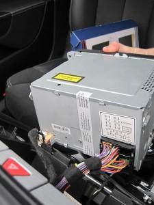 Montering af RNS 510 i Passat 3C
